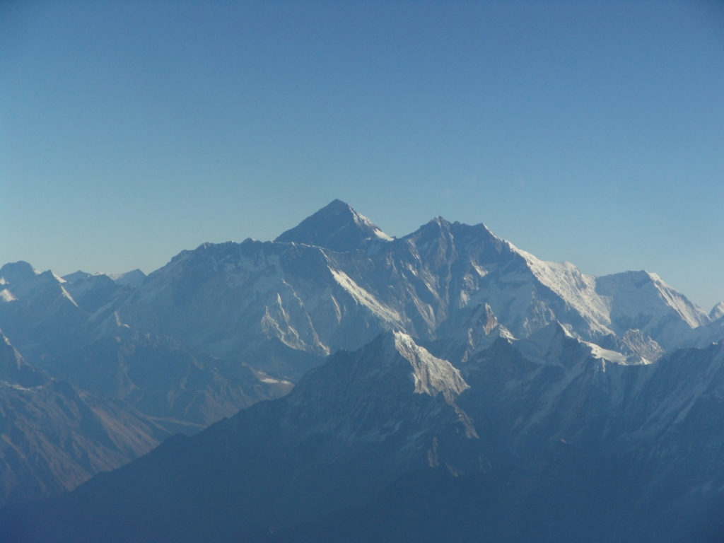 The copter takes you as close as possible to the highest mountain in the world - Mt. Everest