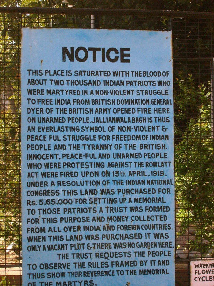 The notice put up at the entrance. I shuddered as I read the first few lines. Very raw