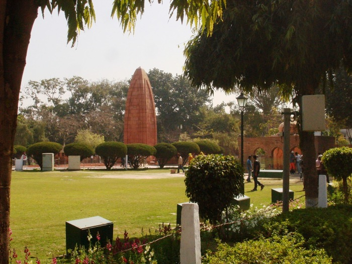 The memorial dedicated to the martyrs of the massacre