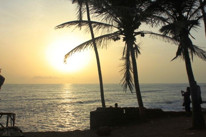 Sunset at the stunning Anjuna Beach