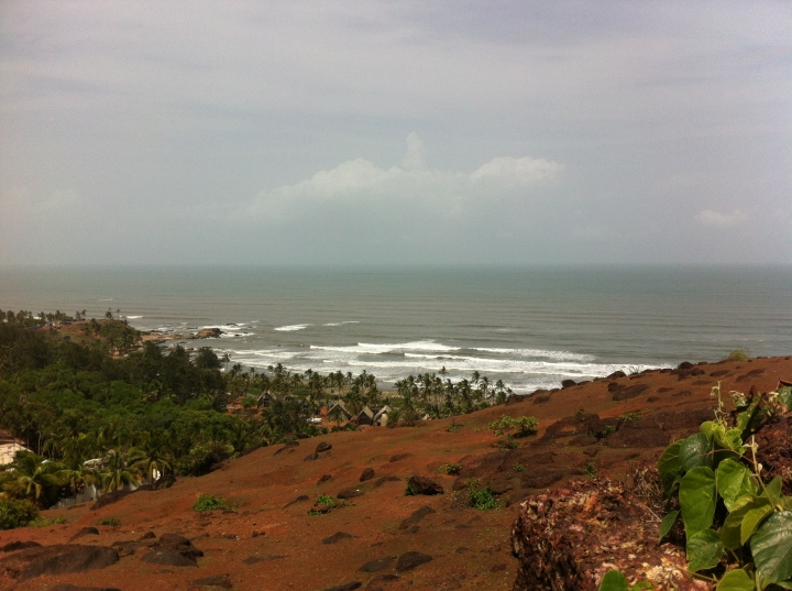 View from Chapora Fort