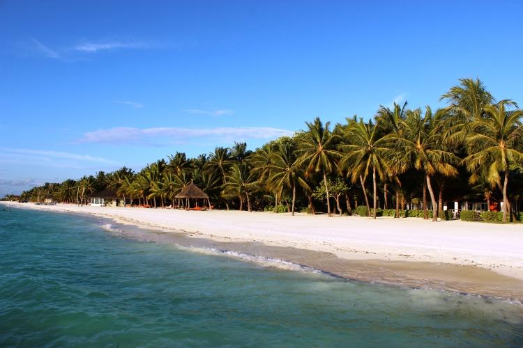 The resort island