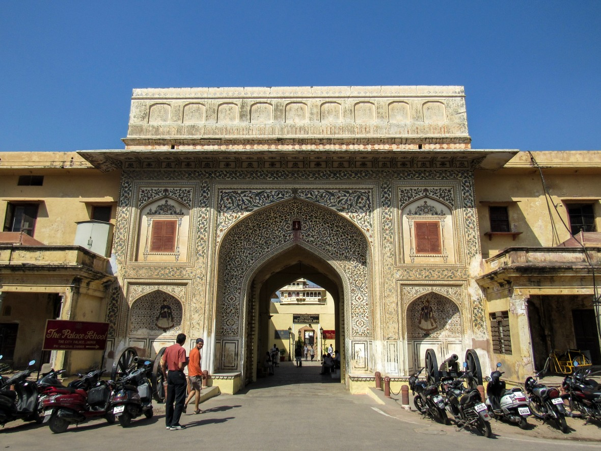 Entry to City Palace