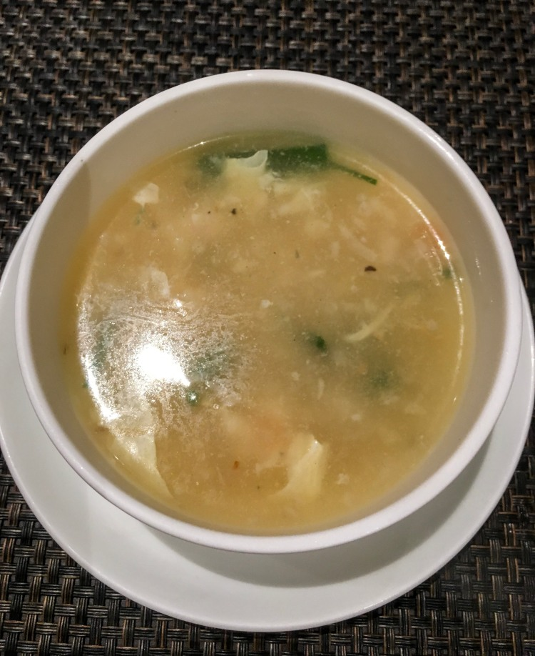 The seafood soup known as Hai Sin Thing