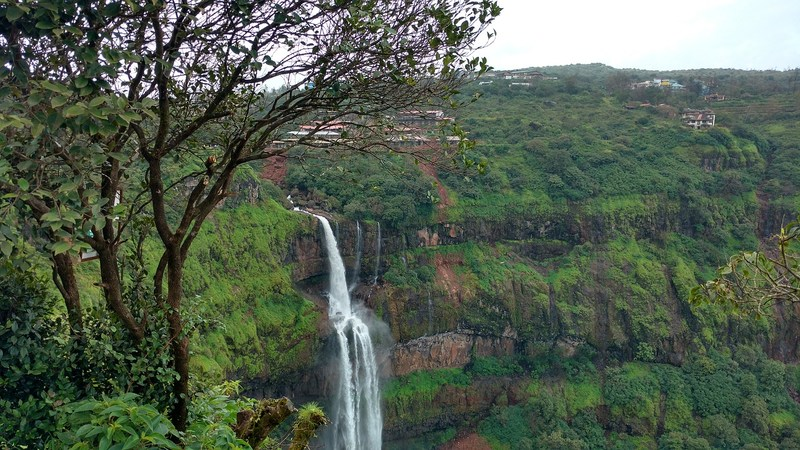 Cascading waterfalls at Panchgani