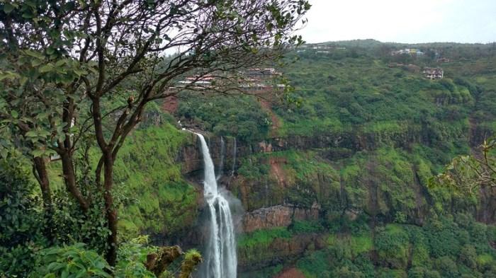 Cascading waterfalls at Panchgani