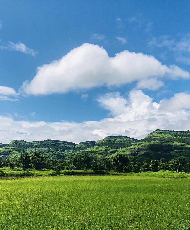 Sahyadri mountain range, kamshet