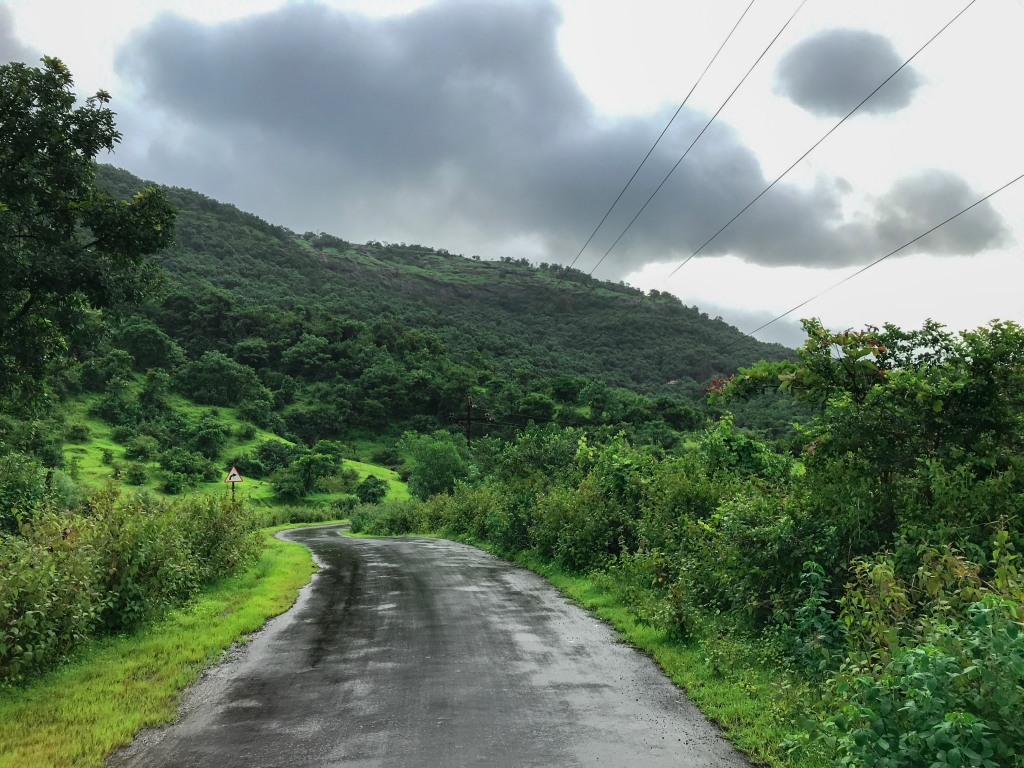 Road in Kamshet, Pune