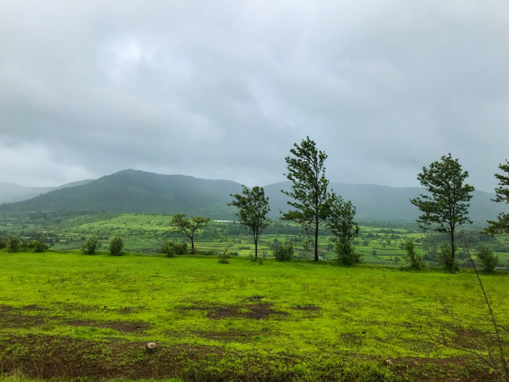 Sahyadri during monsoon